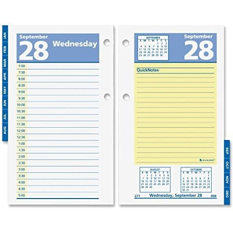 At-A-Glance QuickNotes Daily Desk Calendar Refills (AAGE51750) by At-A-Glance