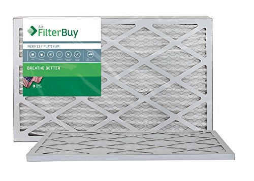Ofen Filter/Air Filter - AFB Platinum Merv 13 (2 Pack), AFB15x20x1M13pk2 (Air Central Filter)