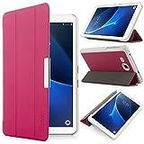 iHarbort Samsung Galaxy Tab A 7.0 Coque Étui Housse - Ultra Slim étui Housse Cuir Coque avec Support pour Samsung Galaxy Tab A 7.0 Pouce T280 T285 Cover Case Housse Pochette Stand, Rose