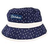 Blackskies Harbor Bucket Hat Unisex Sonnenhut Fischerhut Anker Blau Beige Maritim