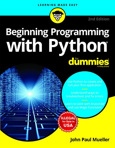 Beginning Programming with Python For Dummies, 2ed