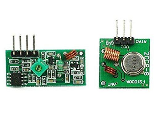 haoyishang 433m 433MHz Wireless Transmitter Modul Empfänger Sensor Link Set für Arduino Project Wireless Sensor Transmitter