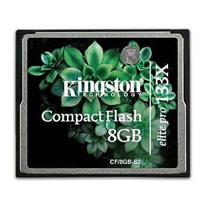 Kingston CF/8GB S2 Elite Pro CompactFlash Card 133x