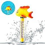 Vegena Pool Thermometer, Schwimmendes Thermometer Wasser Temperatur Thermometer Baby-Pool Thermometer für Innen- und Außenpools, Whirlpool, Hot Tubs und Aquarien & Fischteiche, Goldfisch