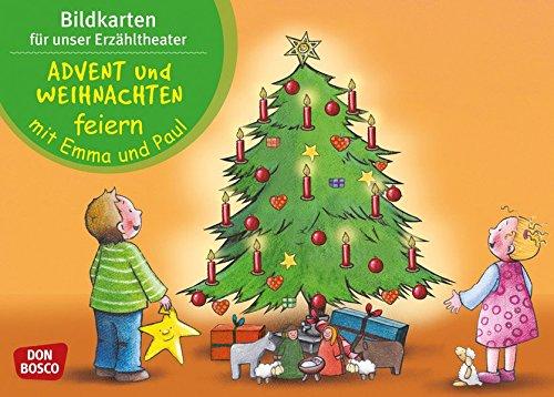 Advent und Weihnachten feiern mit Emma und Paul - Bildkarten für unser Erzähltheater (Mit Kindern durch das Jahr - Bildkarten für unser Erzähltheater)
