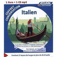 Coffret conversation Italien (guide + 1 CD)