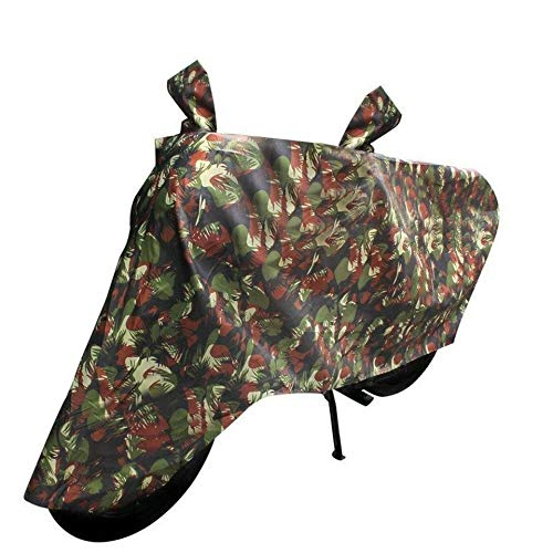 TGP GROUP (Branded) Jungle Print Color Water Resistant Bike Body Cover for Royal Enfield Bullet 500