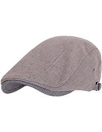 Ililily two-tone plate classic cap coton newsboy hunting cabbie irish ivy a
