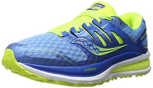 Saucony Triumph Iso 2, Zapatillas de Entrenamiento para Mujer, Azul (B