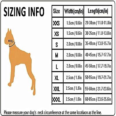 Treat Me Hunde Halsband Sandwich-atmungsaktives Netz viel Bequmer für Hunde oder Haustier Maße, Farbe auswählbar