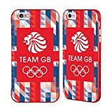 Official Team GB British Olympic Association Union Jack Logo Red Fender Case for iPhone 6 Plus/iPhone 6s Plus