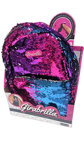 Girabrilla- Nice 02525-Girabrilla Zainetto Backpack Galaxy Assortiti, Colore, 8068020688266