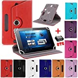 #5: SMM 360 Rotate with Stand Universal 7'' Tablet Flip Cover for IBall Slide Snap 4G2 (Color May Vary) (Free OTG Connector)