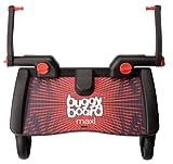 Lascal Buggy Board Maxi Planche à Roulettes Noir/Rouge