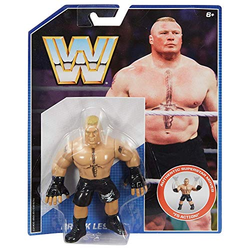 WWE Mattel Retro Series 1 Figur - Brock Lesnar - Brandneu In Box -