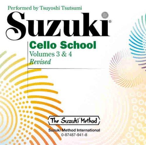Suzuki Cello School, Vol 3 & 4 by Tsuyoshi Tsutsumi(1994-02-01)