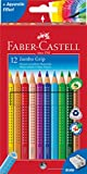 Faber-Castell 110912 Farbstift Jumbo Grip Kartonetui 12er