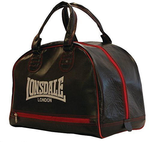 Londsdale Boxen Sandsackzubehör Classic Holdall - Bolsa para Material de Gimnasia, Color Negro, Talla Standard