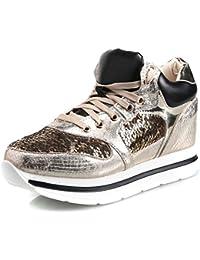 e Scarpe sneakers Amazon zeppa borse Scarpe it Oro TAYZzq