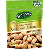 Happilo 100% Natural Premium Californian Almonds Value Pack Pouch, 500 g