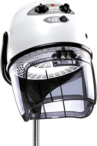 Trockenhaube Equator 3000 mit Stativ weiß 2 Geschwindigkeiten Frischluftsystem Zeitschaltuhr Thermoschutz