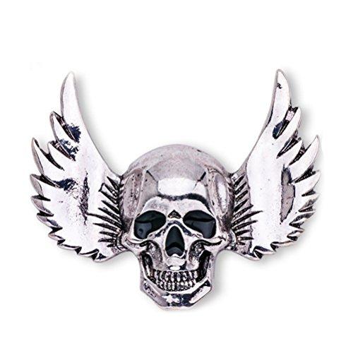 Pin Gothic Punk Ghost Brooch Esqueleto con estilo Breastpin para...