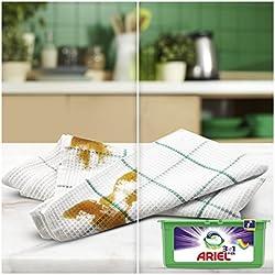 Ariel 3en1 PODS Detergente en Cápsulas Superconcentrado: Limpia y Mantiene el Brillo del Color - 3 x 38 Lavados