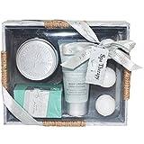 Gloss! Spa Therapy Baño De La Meseta De Madera, 6 Habitaciones - 1 Kit