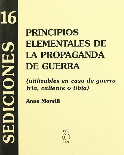Principios elementales de la propaganda de guerra (Sediciones)