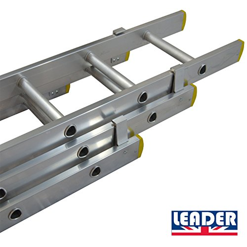 leader-pro-trade-30m-984ft-triple-extension-ladders-3-x-10-rungs-aluminium-ladders-extends-from-30m-