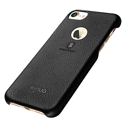 GHC Cases & Covers, Für iPhone 7 Litchi Texture PU + PC Paste Skin Schutzhülle ( Color : Brown ) Black