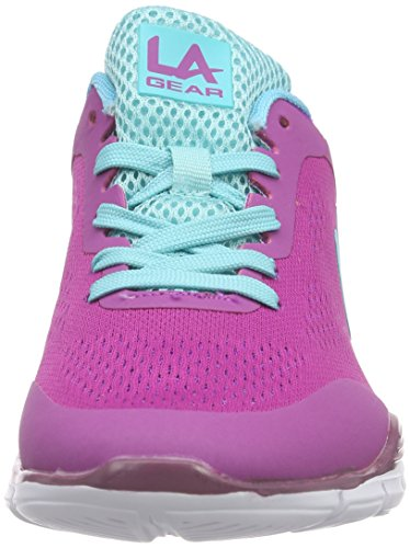 L.A. Gear Malibu Damen Sneakers Pink (Rose 09)