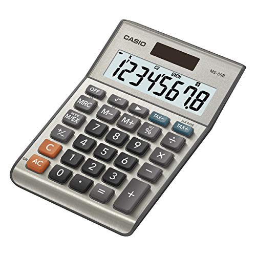 Casio MS-80B Calculatrice Gris
