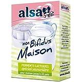 Alsa preparation pour yaourt mon bifidus maison 4 sachets 8g Envoi Rapide Et Soignée ( Prix Par Unité )