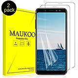 MauKoo Pellicola Samsung A6&A8 2018, (2 Pezzi) Pellicola Protettiva A6&A8 2018 Protezione Schermo HD Ultra Trasparenza No-Bolla Anti-graffio Samsung Galaxy A6&A8 2018 Pellicola