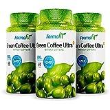 Green Coffee Ultra + Café Vert 800mg (3 bouteilles x 60 gélules) - supplément de perte de poids