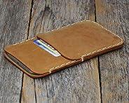 Marrone chiaro custodia a guscio per Samsung Galaxy Note 20 ULTRA in cuoio con 1 porta carta di credito e banc