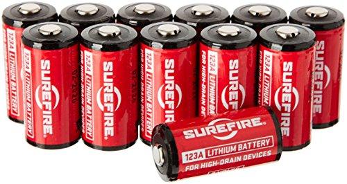 Preisvergleich Produktbild Surefire Erwachsene 123A Lithium-Batterien 12-er Packung