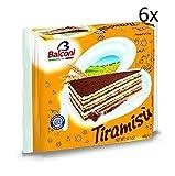 6x Balconi Tiramisu tiramisù Torta Schokolade creme 400g kuchen cake