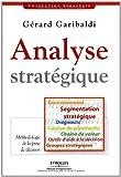 Analyse stratégique - Environnement Segmentation stratégique Diagnostic Gestion du portefeuille Chaîne de valeur