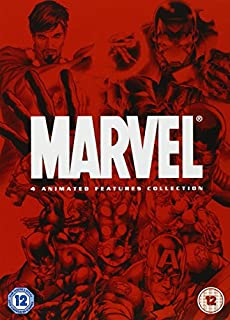 Marvel 4 Animated Features Collection [DVD] (B000Z63Z92) | Amazon price tracker / tracking, Amazon price history charts, Amazon price watches, Amazon price drop alerts
