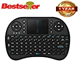 #9: Teconica Wireless Mini 78- key Touchpad Bluetooth Multifunction Mouse And Keyboard- Black