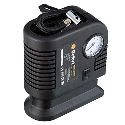 Defort DCC-251N - Minicompresor automático 12 V [Importado