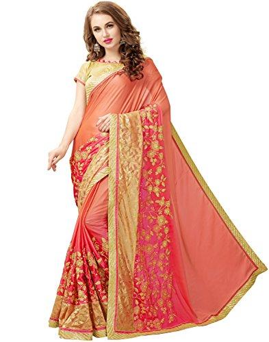 SareeShop Saree (KARINAORANGE_Orange_Free Size)