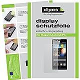 dipos I 2X Schutzfolie matt passend für Huawei Ascend P6 Folie Bildschirmschutzfolie