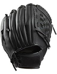CHT Baseball En Plein Air Dans Un Gant De Baseball PU Adulte / Paragraphe Juvénile Gants Pichet Sauvage Softball Gants Engobe Noir