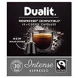 Dualit Intense Nespresso Compatible NX Coffee Capsules 10 per pack