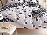 TylAdamdongdong Warme Winter Microfaser Bettwäsche,Bettbezug Bedding Printing Single Doppel Königin König Customized flamingo-04_155x215cm