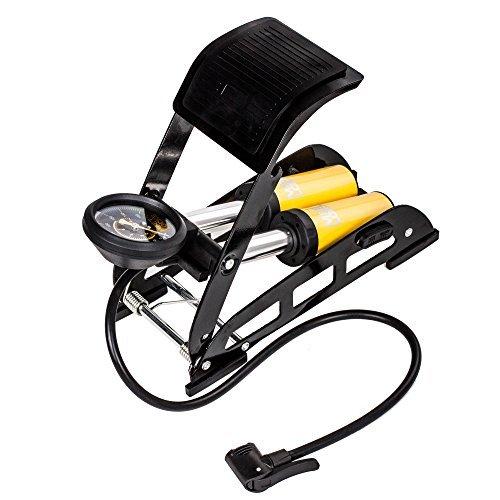 Fahrradluftpumpe MEETLOCKS Doppelzylinder