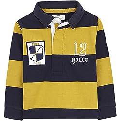 Gocco Polo Rayas Marino, Bebés, Azul, 9-12 Meses